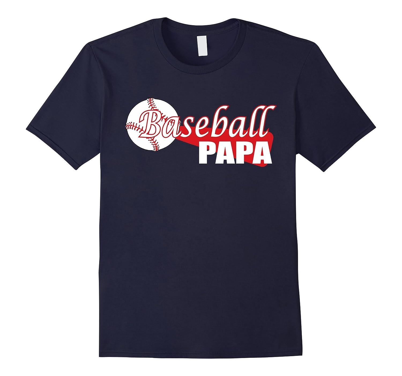 Mens Papa Baseball Shirt for dads