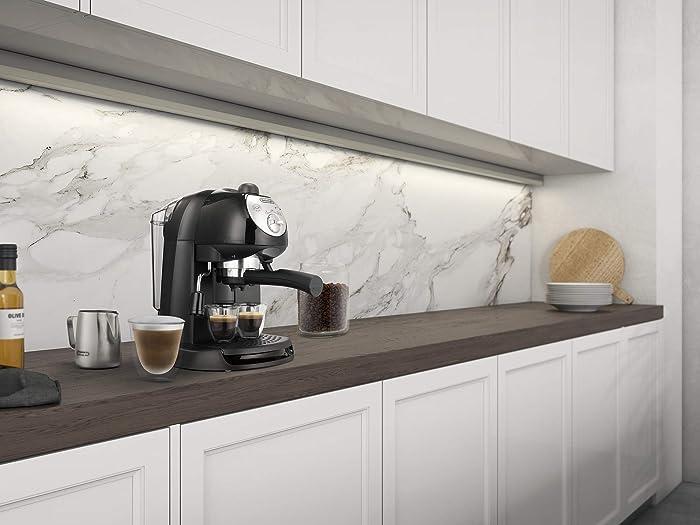 De'Longhi Espressomaschinen mit Siebträger bringen italienisches Design in Ihre Küche