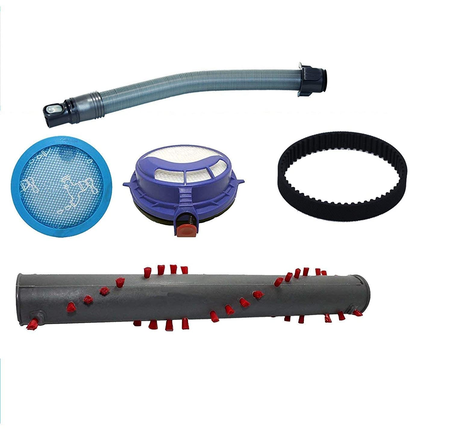 Dyson DC25 Kit Includes Pre and Post Filters, Brushroll, 1 Belt, and Hose