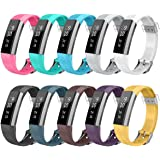 AIUNIT Compatible Fitbit Alta HR and Alta Band, Replacemtn for Fitbit Alta Accessories Bands Watch Design Bands Alta HR Wristbands Small/Large for Fitbit Alta Fitbit Ace Fitness Tracker Women Men Boys Girls