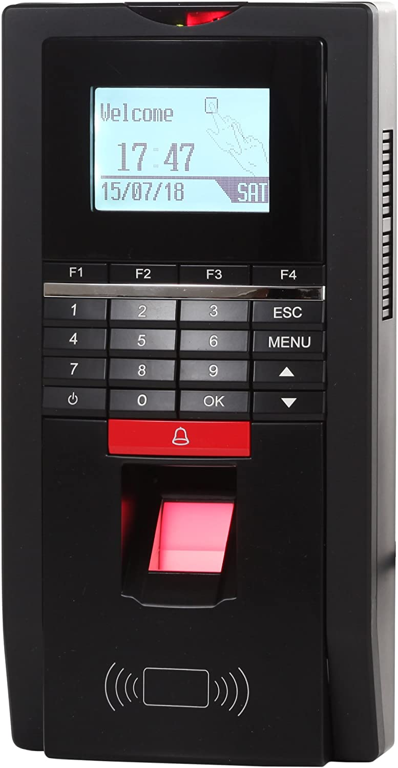 Fingerprint & Rfid Id 125khz Card Tcp/ip Rs485 Door Access Control Time Attendance Terminal Home Improvement