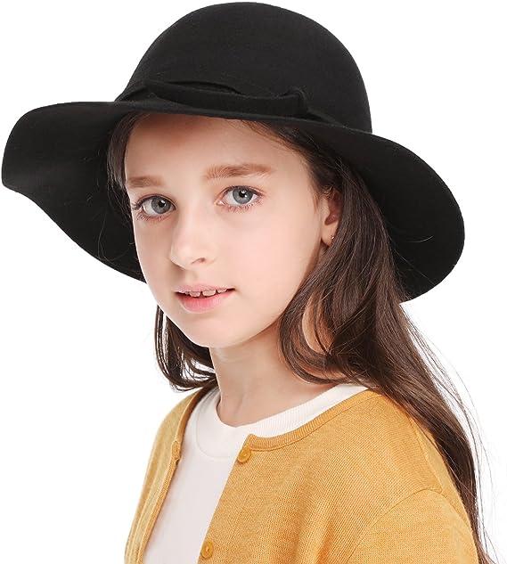 Children/'s Winter Hats Fedora Cat Ears Kids Dome Solid Comfy Trendy Head Wear