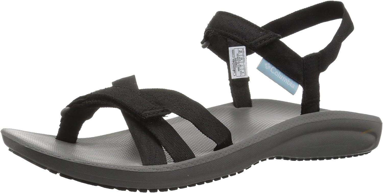 Columbia Wave Train Sandals Men Black//City Grey 2019 Sandalen schwarz grau