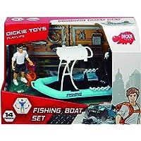 Set S Playlife lancha de pesca con figura y accesorios (Dickie 3833004)