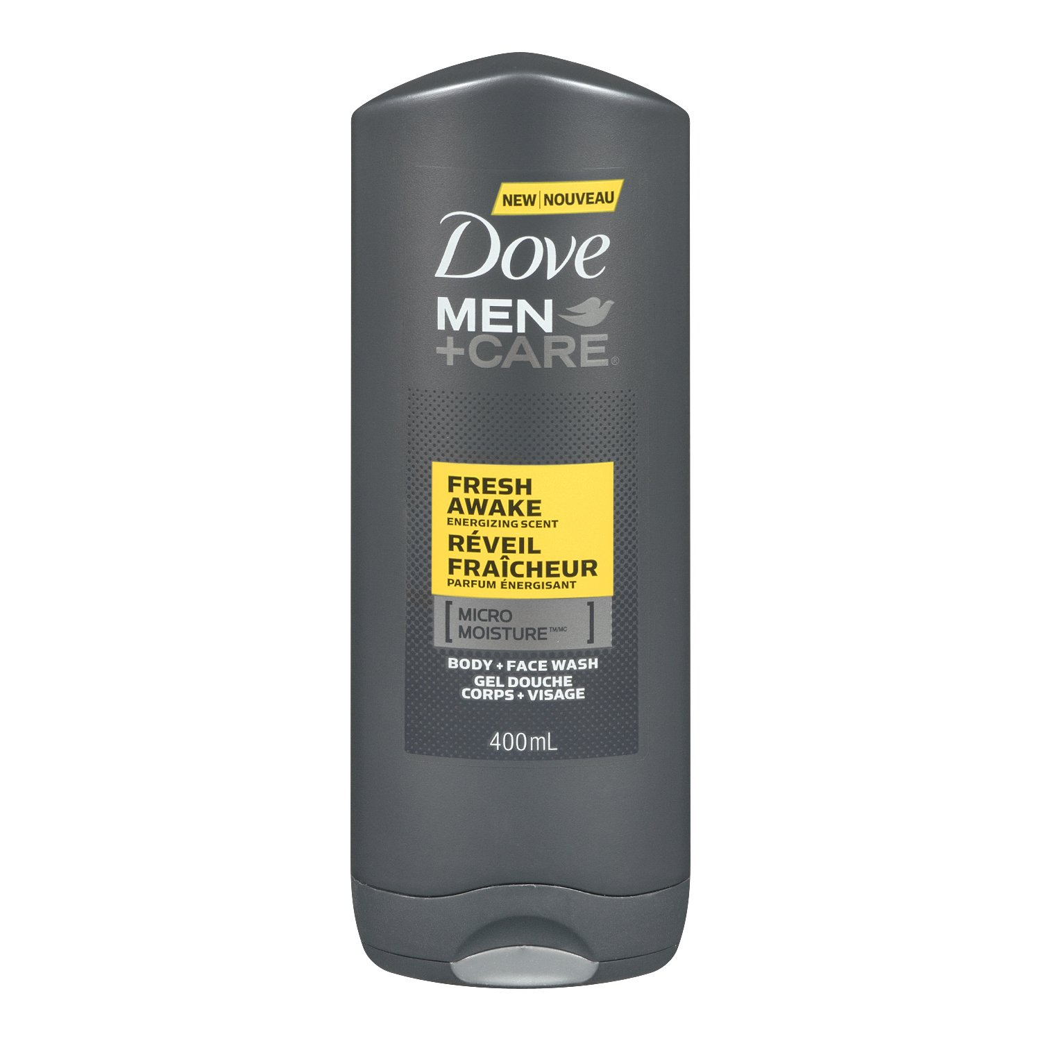 Dove Men +Care Hydration Balance Micro Moisture Body + Face Wash 400ml Dove Bw Men' s+Care