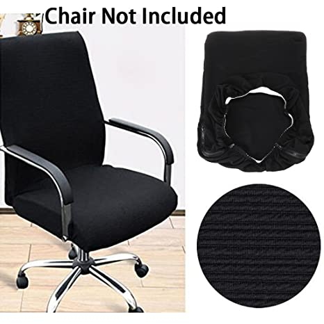 amazon com btsky office computer chair covers stretchy polyester