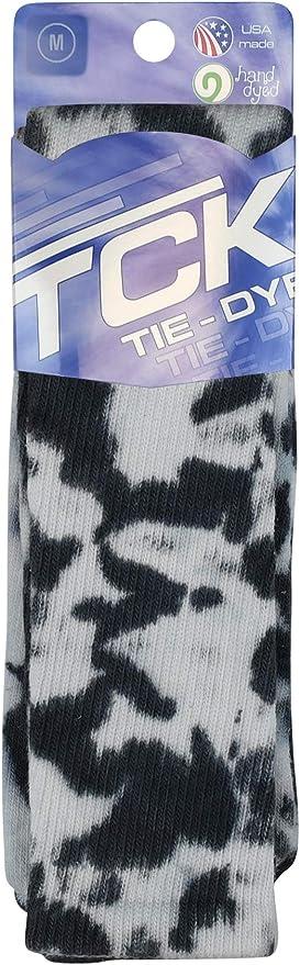 Multicolored Scrunch Tie Dye Socks Men\u2019s Size 6-11 Broken Highlighter
