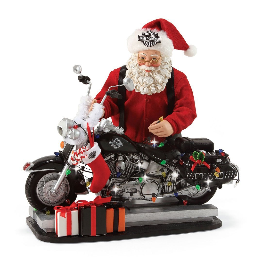 """Department 56 Possible Dreams Santa Claus """"Light Up The Night"""" Clothtique Figurine, 9.5''"""