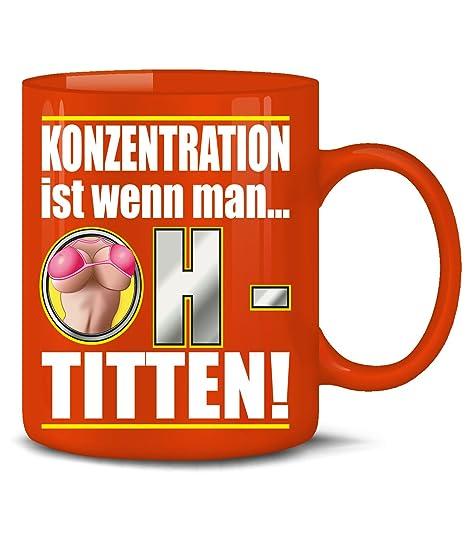 Gift \u2013 Concentration ist wenn man Coffee Mug Tea Cup Ceramic Mug in Various Colors red