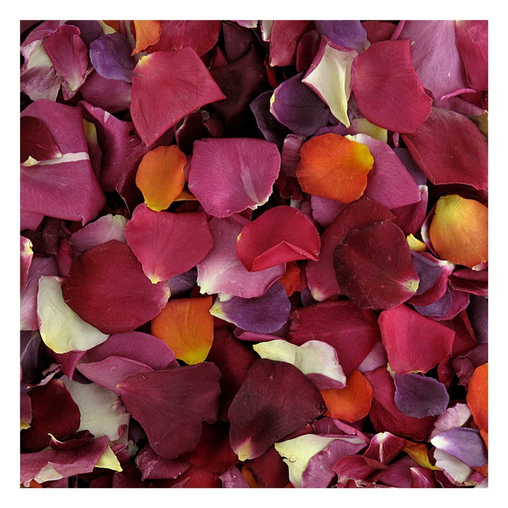 Rose Petals 240 cups. Romantic Rendezvous Preserved Freeze Dried Rose Petals. Wedding Decoration.