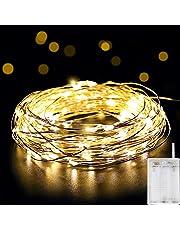 Salcar 10m LED colorati corda leggera a 10 metri / 33 piedi 100 diodi all'interno filo di rame