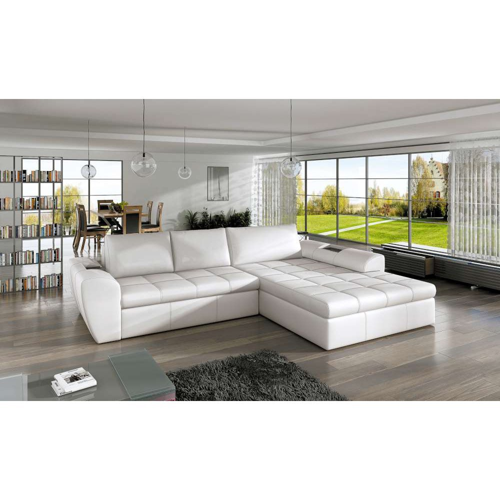justhome la costa ecksofa eckcouch mit bettkasten. Black Bedroom Furniture Sets. Home Design Ideas