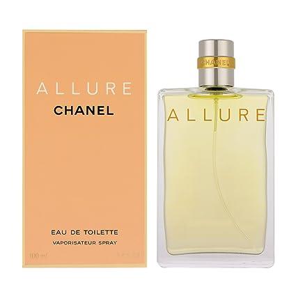 6323e2df4 Allure Donna di Chanel - Eau de Toilette Edt - Spray 100 ml.: Amazon.it:  Bellezza