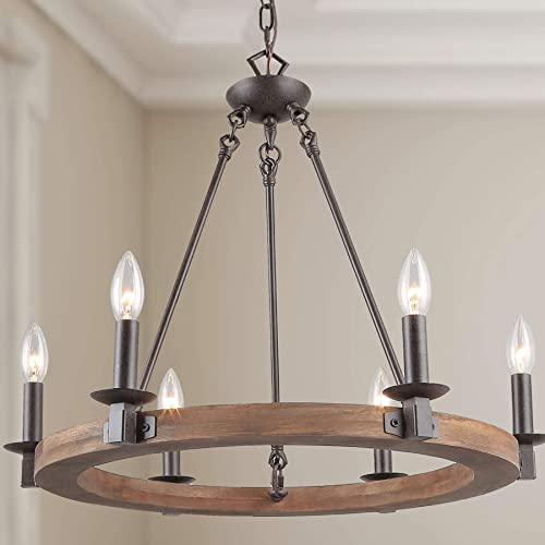 LNC A03300 Farmhouse Chandelier