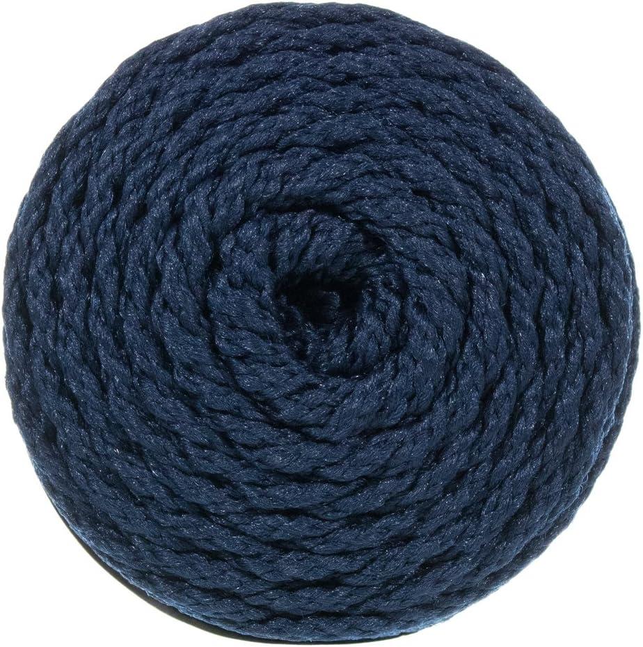 4mm Craft County Bonnie Macram/é Cord 100 Yard Lengths Turquoise