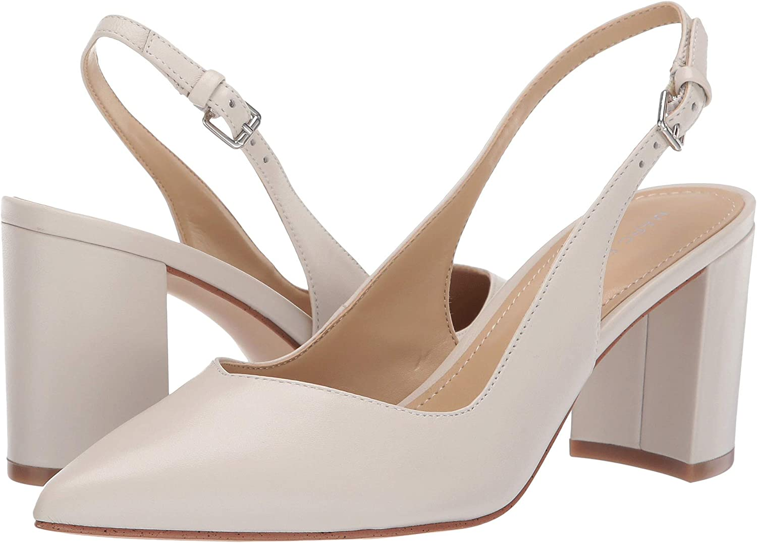 029f096a1d780 Marc Fisher Women's Catling 2 Ivory/White Leather 7.5 M US
