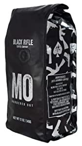 Black Rifle Coffee Company Murdered Out Dark Roast Ground Coffee, 12 Ounce Bag
