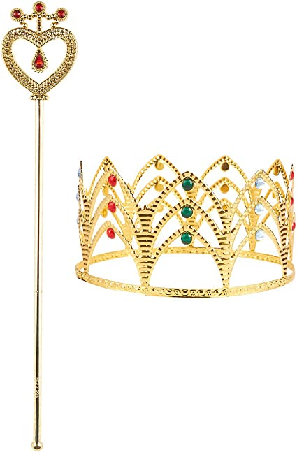 Leg Avenue Womens Crown and Scepter Costume Accessory