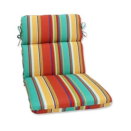 Amazon Com 40 5 Westport Spring Striped Outdoor Patio Chair