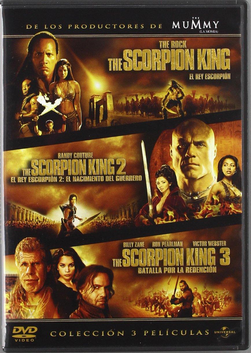 El Rey Escorpión (Trilogía) [DVD]: Amazon.es: Dwayne Johnson ...
