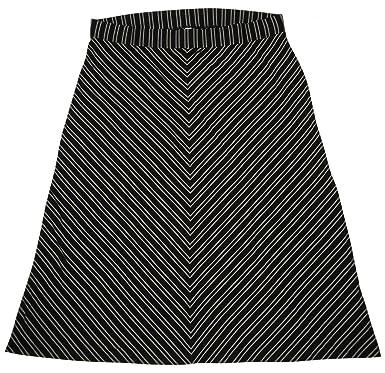 Old Navy Women\'s Maxi Skirt Plus Size 4X Black Gray Stripe ...