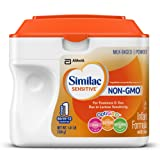 Amazon Price History for:Similac Sensitive Infant Formula with Iron, Stage 1  Non-GMO, Powder, 22.56 Ounces (Pack of 6)