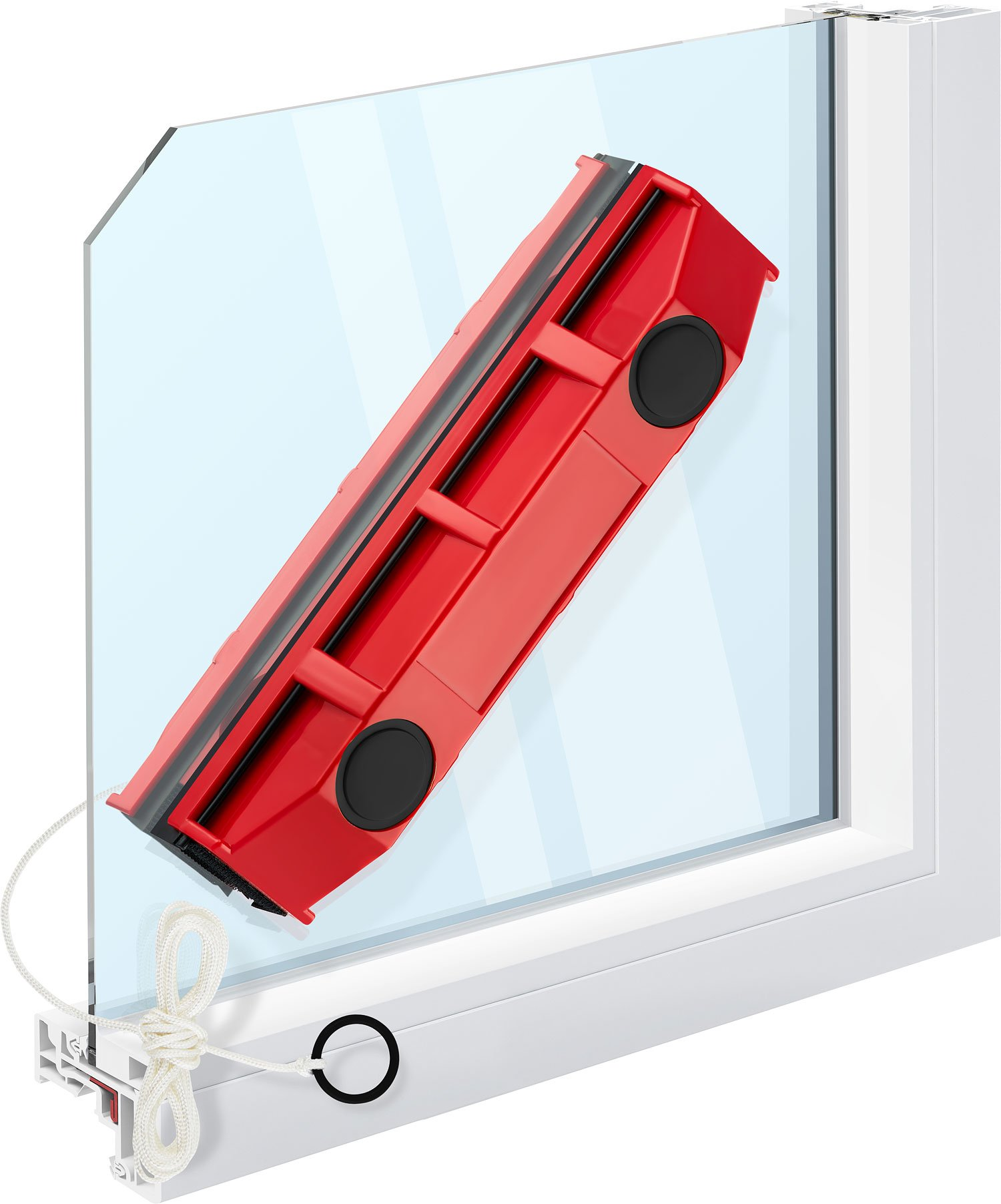Tyroler Bright Tools The Glider S-1 Magnetic Window Cleaner for Single Glazed Windows
