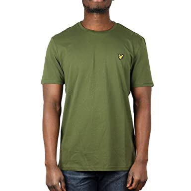 81dda4d3989 Lyle   Scott Men s Crew Neck T-Shirt  Lyle And Scott  Amazon.co.uk ...