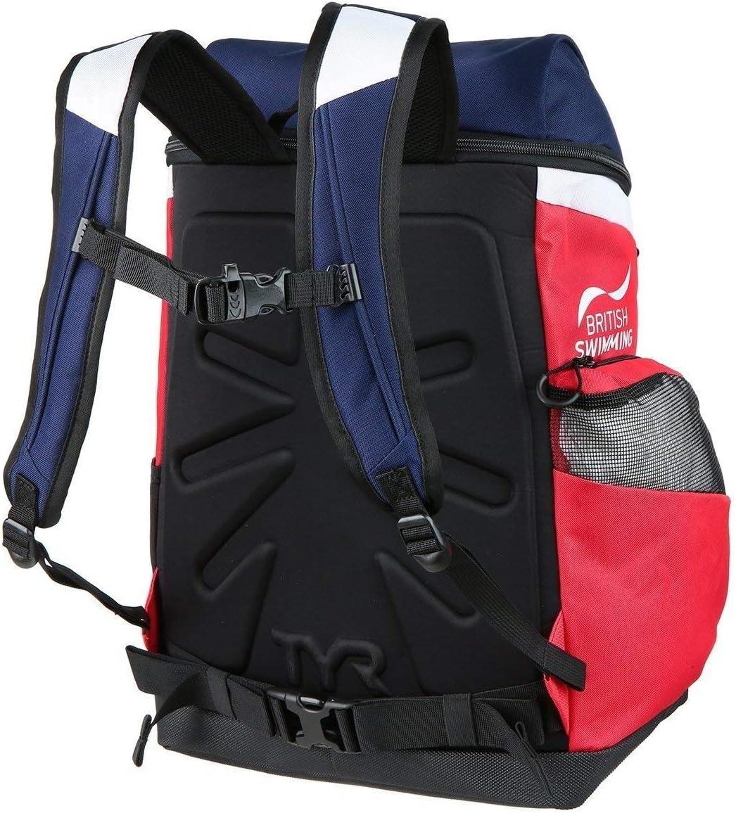 einzigartig 45L blau//rot TYR Alliance Team Rucksack 45L British Federation-Special Edition