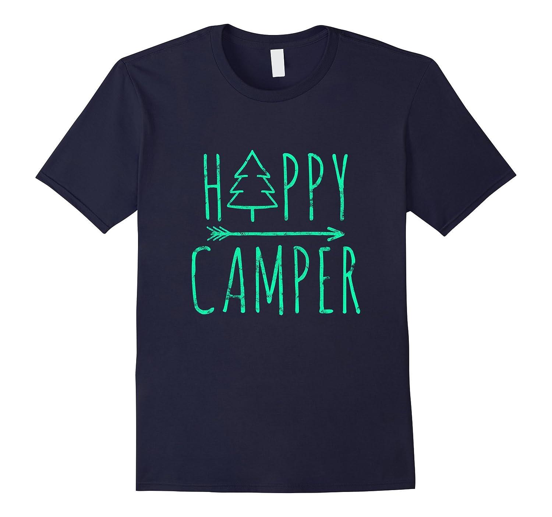Happy Camper Camping T-Shirt-Art