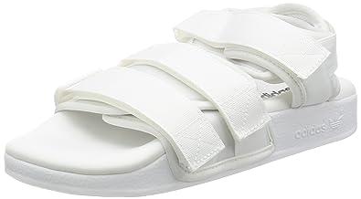 740bd6f2c Adidas Adilette Straps Sandals White  Amazon.co.uk  Shoes   Bags