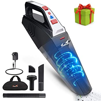 Tower Top 2 LED Light Cordless Vacuum for Car