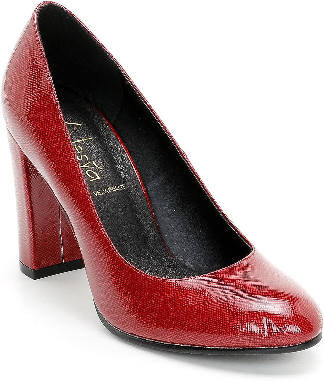 ALESYA by Scarpe&Scarpe - Zapatos de salón con Efecto Brillante