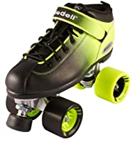 RIEDELL DART 2 TONE OMBRE QUAD ROLLER SPEED SKATE