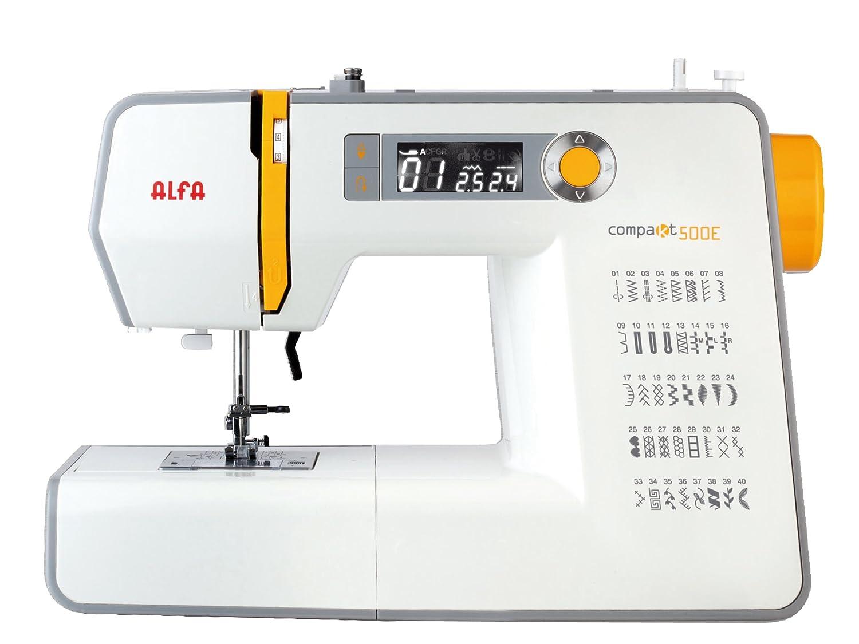 Alfa Compakt 500 Sewing Machine With Uk Plug Grey Amazon