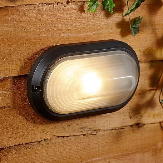 Biard Luz Exterior Tipo Mampara - Iluminación de Seguridad de ...