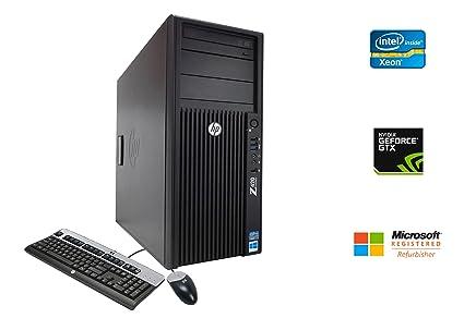Amazon com: HP Z420 Workstation Desktop Gaming Video Editing