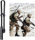 Bingfu Dual Band VHF UHF 136-520MHz 18.5 inch Foldable CS Tactical SMA Female Ham Radio Antenna for Kenwood Wouxun…