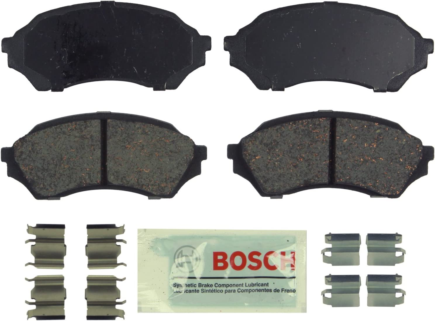 Bosch Our shop OFFers the best service Cheap mail order sales BE798H Blue Disc Brake Pad 1999-02 M for Set with Hardware