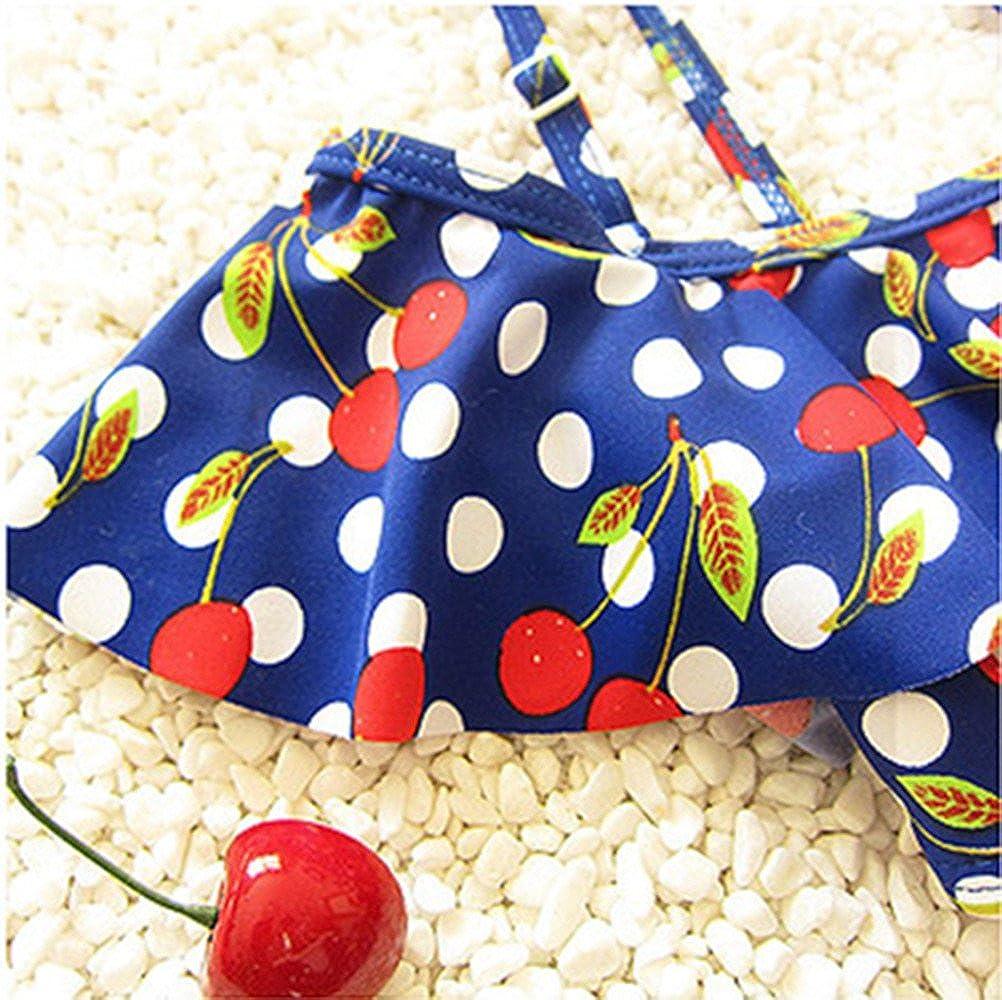 zhxinashu Lovely Girls Summer Bathing Suit Infant Girls Cute Swimwear 2 Pieces Bikini Set