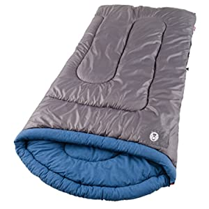semi-rectangular shaped camping bag