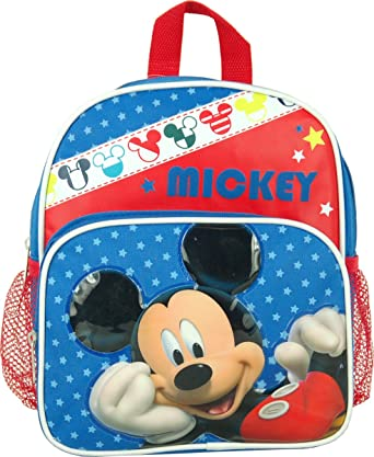 Image Unavailable. Image not available for. Color  Disney Mickey Mouse  Toddler Mini 10 Backpack 44386f41e0b0