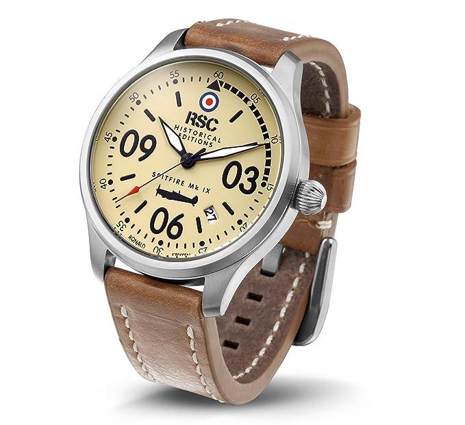 RSC803, SPITFIRE Mk IX, RSC Relojes de piloto, Ediciones Históricas, Aviación: Amazon.es: Relojes