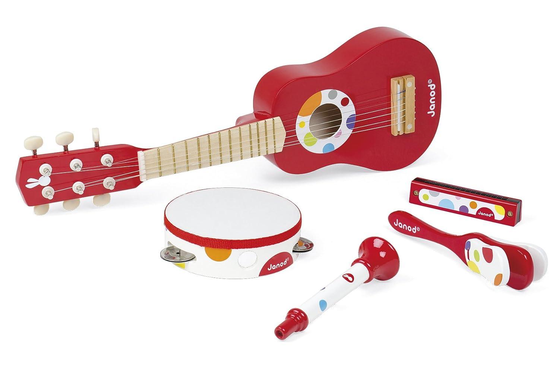 Janod Set de instrumentos musicales de madera