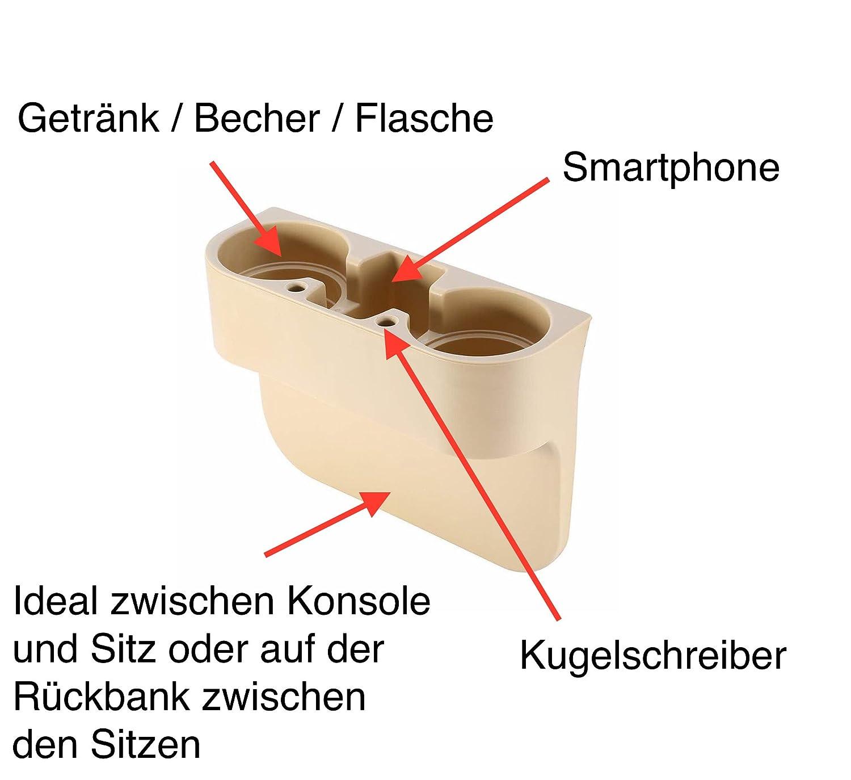 Edition 2 GELAN Becherhalter KfZ Getr/änkehalter BV2-28S 550475 Halterung Flaschenhalter Kaffebecher Becherhalter Cupholder in Beige