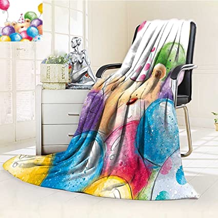 Astonishing Amazon Com Throw Blanket Childish Design Teddy Bear And Gamerscity Chair Design For Home Gamerscityorg
