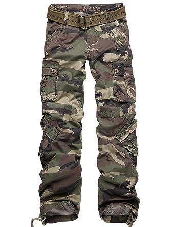 5fd7c53947f0a Amazon.com  Match Juniors Camouflage Cargo Pants 3 Colors Available Petite  Slim Fit Military Style Pants  2036M (Label size M 28 (US size 4)