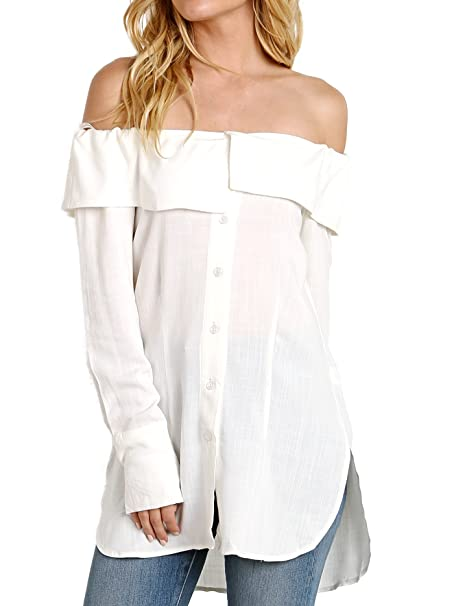4c3f78970734b Stone Cold Fox Poppy Blouse White at Amazon Women s Clothing store