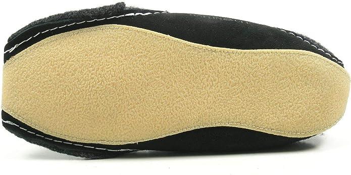 Haflinger Pocahontas 411001 Schuhe Damen Herren Hausschuhe Pantoffeln Wolle