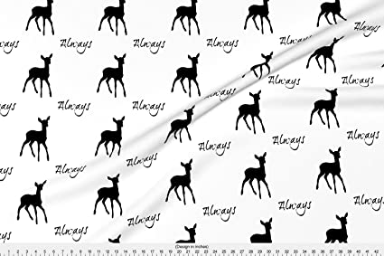c72f84401 Amazon.com  Spoonflower Always Fabric After All This Time by ...